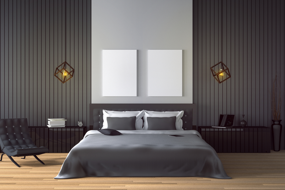 Black bedroom sets for elegance and high functionality