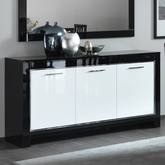 Contrasting Colors Of Sideboards