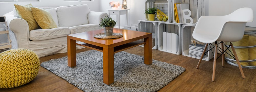 Coffee table for a small living room