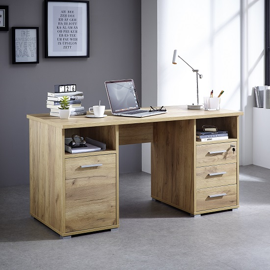 Wish to Stay Organized? Buy a Computer Desk with Lots of Storage