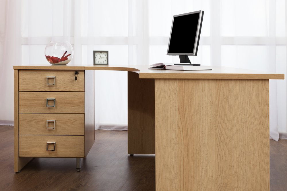 Keep your Private Office Files Safe with Computer Desks with Lock
