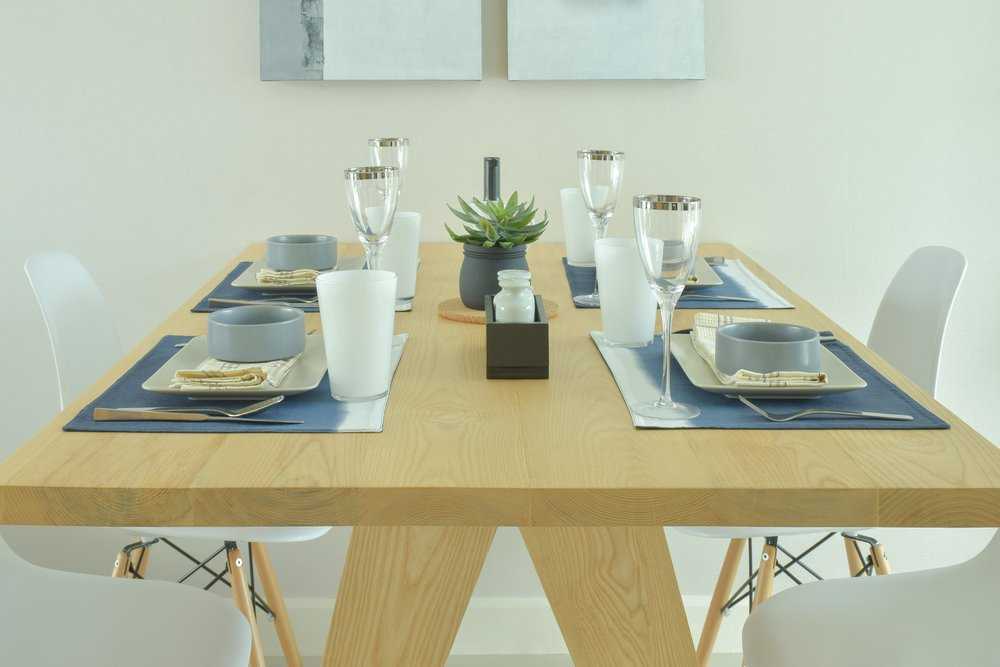Revamp your dining room with a Walnut Extendable Dining Table