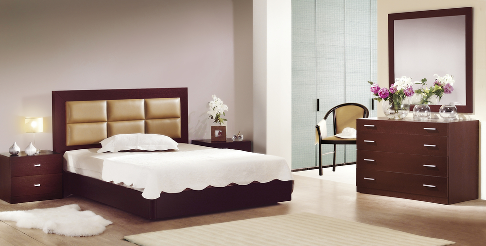 Affordable black gloss bedroom furniture sets