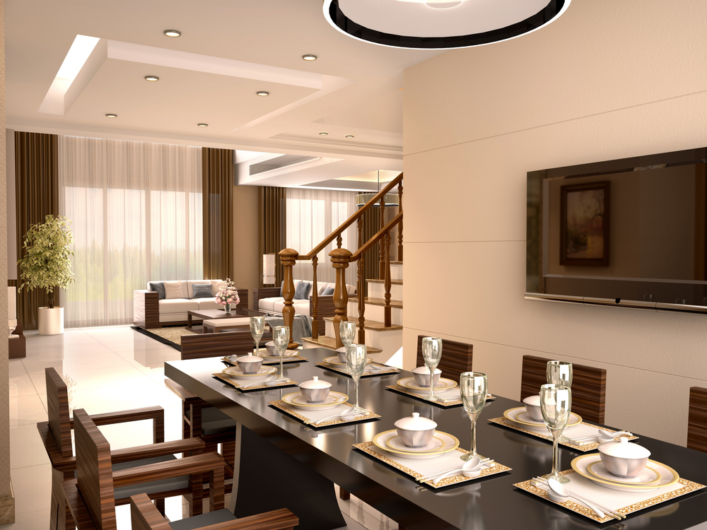 Dining Tables For Luxury Apartments