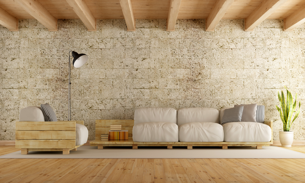 How to renovate your living room with modern rustic living room furniture