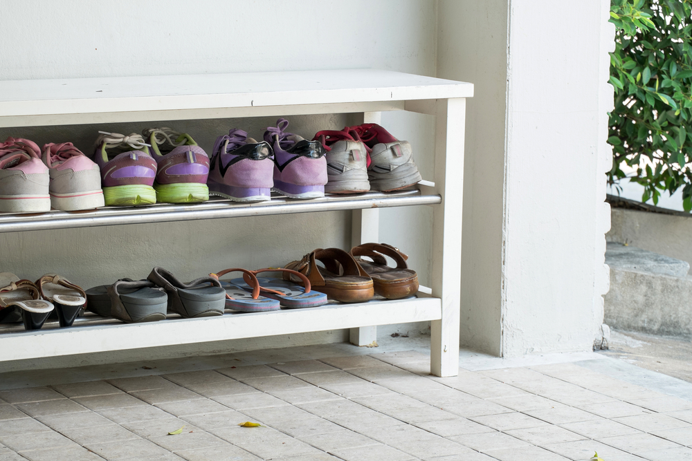 Shoe Storage Ideas Closet