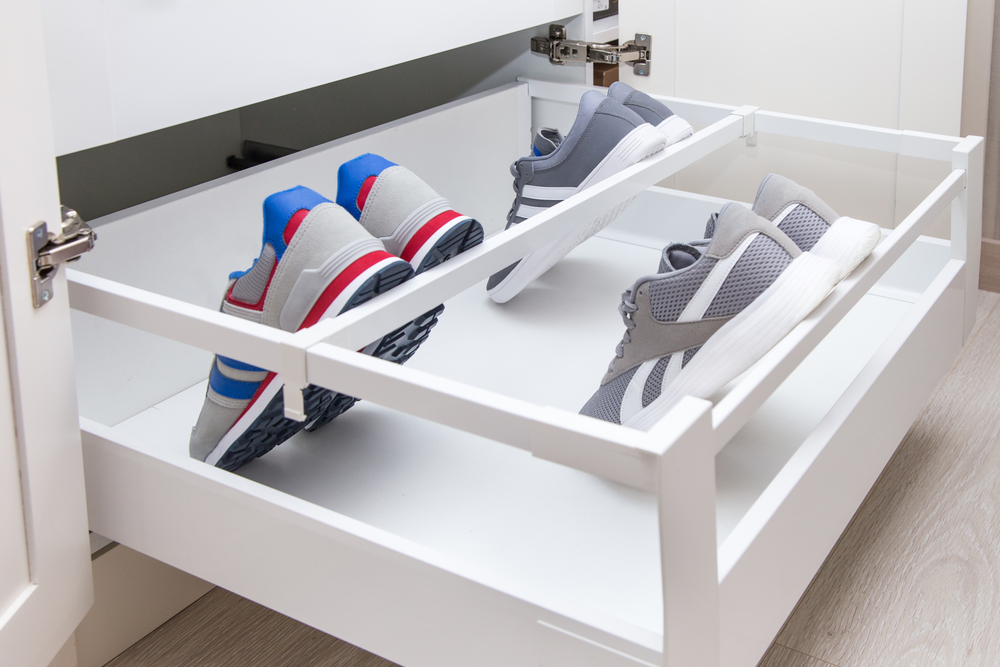 Shoe Storage Ideass For Small Spaces