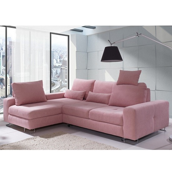 Pink fabric sofa sofa home london part 4 thesofa for Home articles furniture
