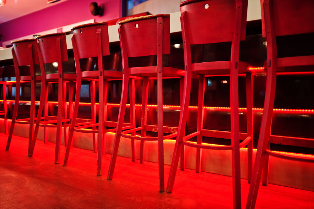 Wooden Bar Stools With Arms