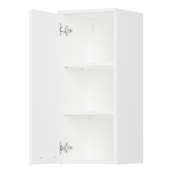 Arvada Wall Bathroom Storage Cabinet In White_2