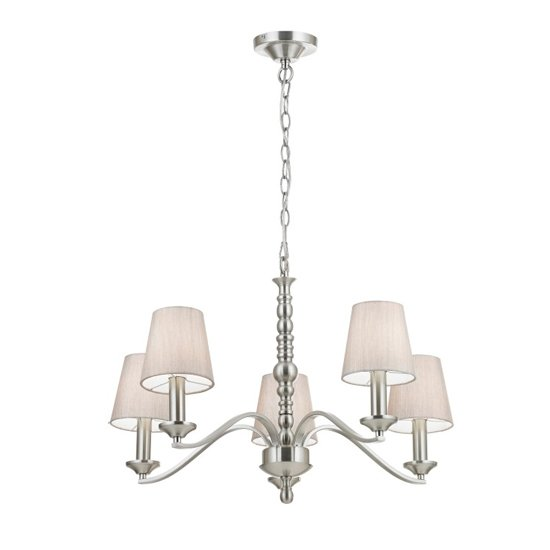 Astaire Wall Hung 5 Pendant Light In Chrome_1