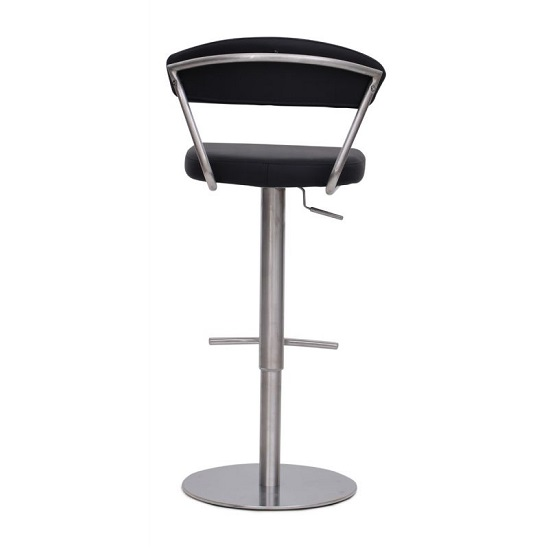 Astley Bar Stools In Black Faux Leather In A Pair_2