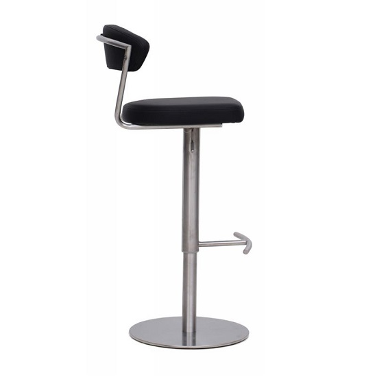 Astley Bar Stools In Black Faux Leather In A Pair_3