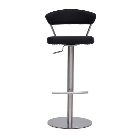 Astley Bar Stools In Black Faux Leather In A Pair_4