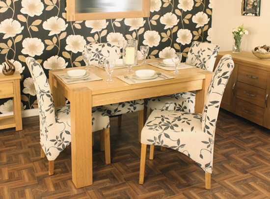 Aston Small Dining Table In Oak