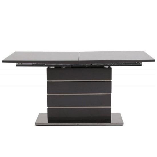 Astrid Glass Extendable Dining Table With Grey High Gloss_5