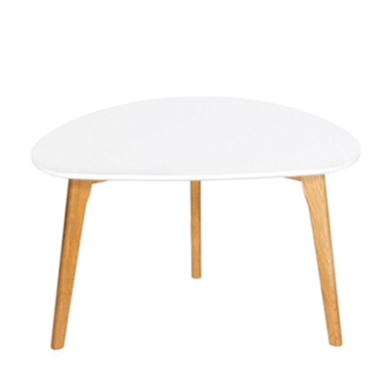 Astro Wooden Coffee Table In White