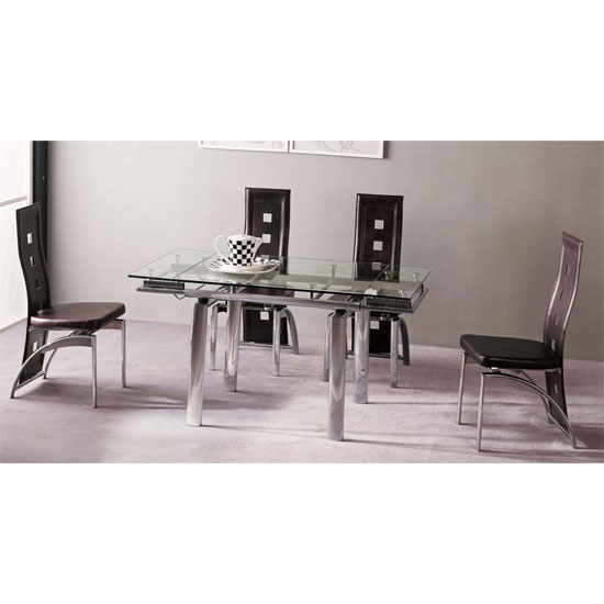 Buy cheap Round extendable dining table compare Tables  : atlantaC dining set4man from www.priceinspector.co.uk size 550 x 550 jpeg 30kB