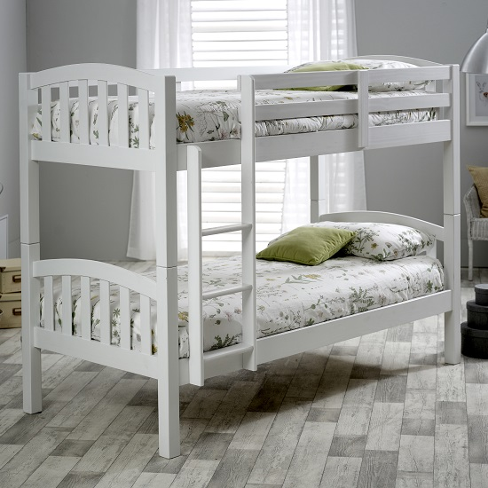 Rowley Wooden Bunk Bed In White Pine_1