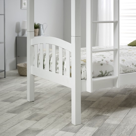 Rowley Wooden Bunk Bed In White Pine_3