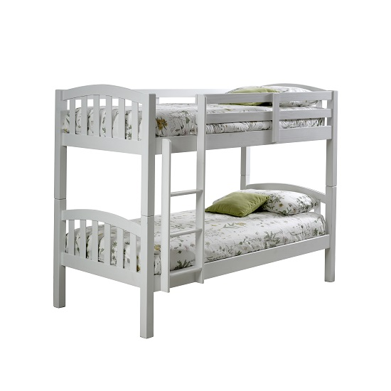 Rowley Wooden Bunk Bed In White Pine_4