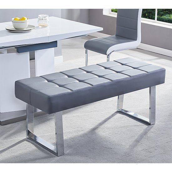 Shop online for your comfortable leather and fabric dining benches with storage at Furniture in Fashion