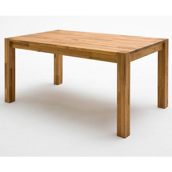 Austria Wooden Extendable Dining Table In Beech Heartwood_1