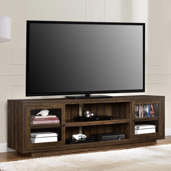 Bailey Wooden TV Stand In Espresso_2