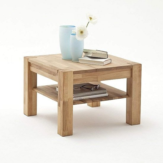Balisaro Wooden Coffee Table Square In Beech Heartwood_1