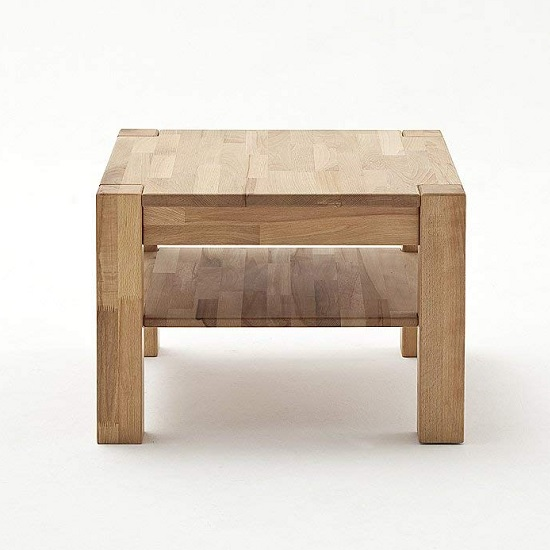 Balisaro Wooden Coffee Table Square In Beech Heartwood_2