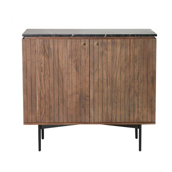 Bari Wooden Sideboard With 2 Doors