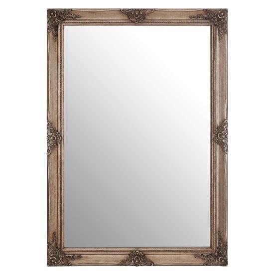 View Barstik rectangular vintage wall mirror in gold