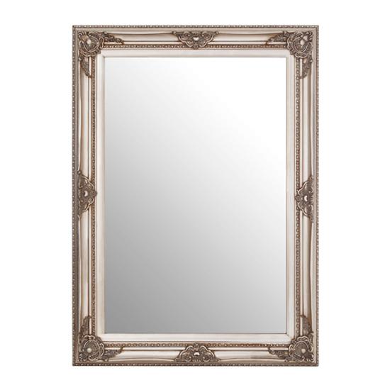 View Barstik rectangular vintage wall mirror in grey