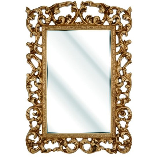 Rosco Ornate Wall Mirror In A Gold Frame
