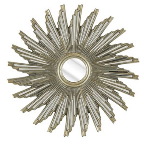 Sunburst Wall Mirror In Bevelled Glass