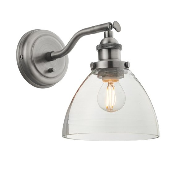 Bartley Wall Light In Silver