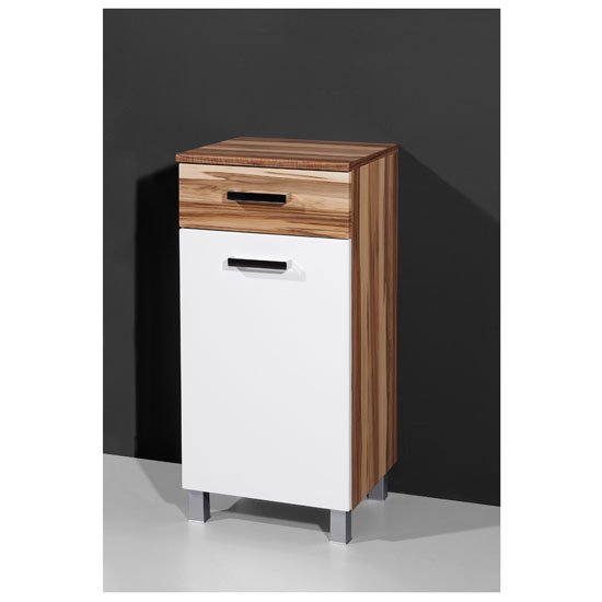 Bilbao3 Freestanding Tall Bathroom Cupboard Buy Bathroom Cabinets Furnitureinfashion Uk