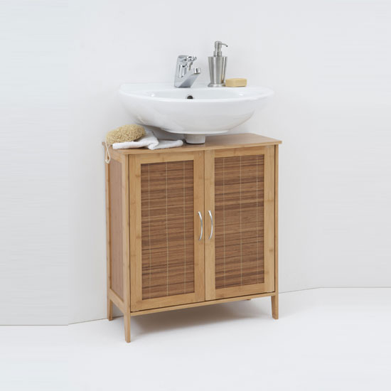 details about bali 2 solid bamboo bathroom vanity 917 002