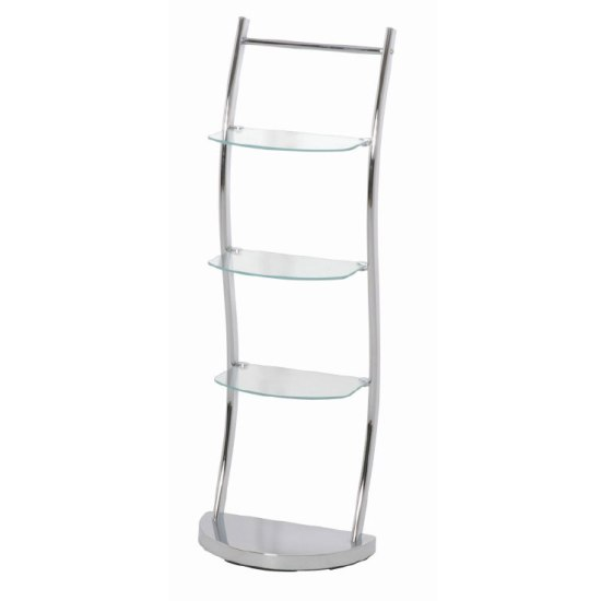 Chrome bathroom display shelving stand 90249 5224 - Etagere salle de bain ventouse ...