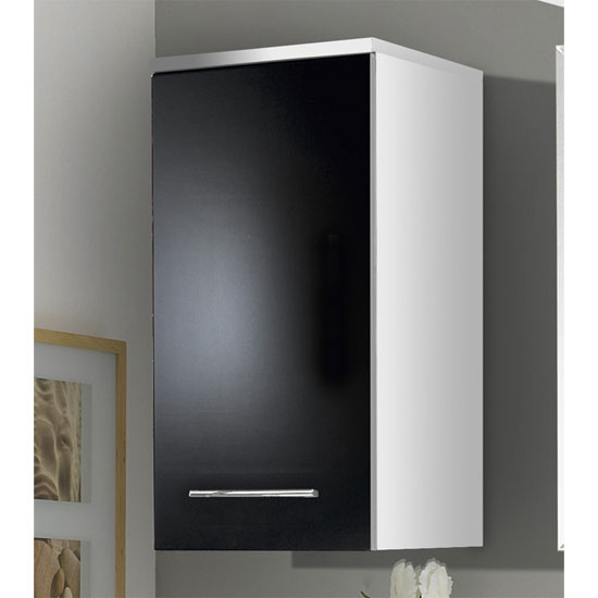 gloss black bathroom wall cabinet 1745 73 buy bathroom cabinets