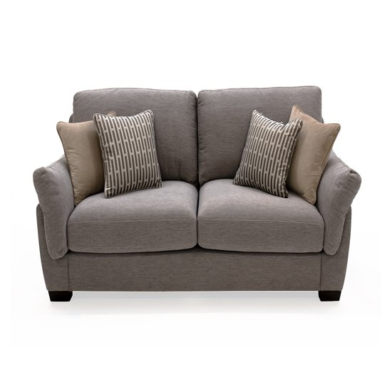 Beckett Fabric 2 Seater Sofa In Taupe