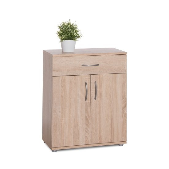 Photo of Becky wooden storage cabinet in sonoma oak effect