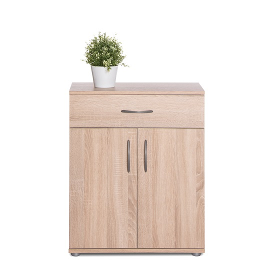 Becky Wooden Storage Cabinet In Sonoma Oak Effect_2