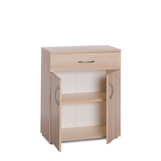 Becky Wooden Storage Cabinet In Sonoma Oak Effect_3