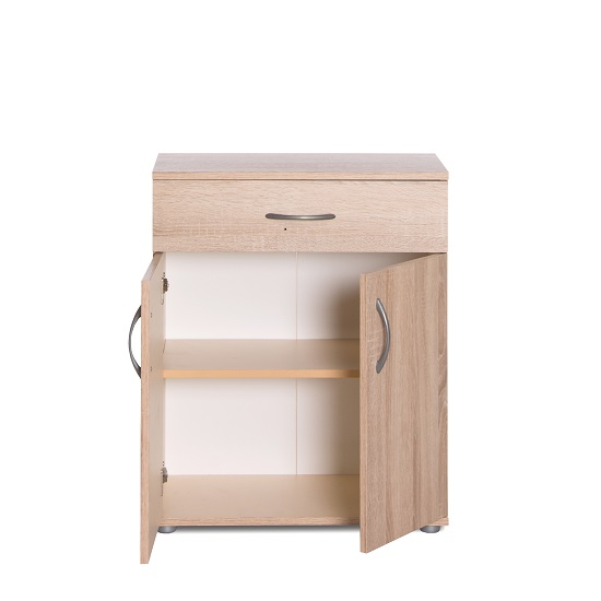 Becky Wooden Storage Cabinet In Sonoma Oak Effect_4