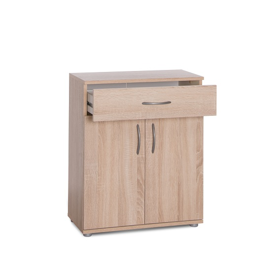 Becky Wooden Storage Cabinet In Sonoma Oak Effect_5