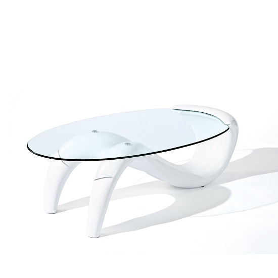 Bella Glass Coffee Table In Curved High Gloss White_3