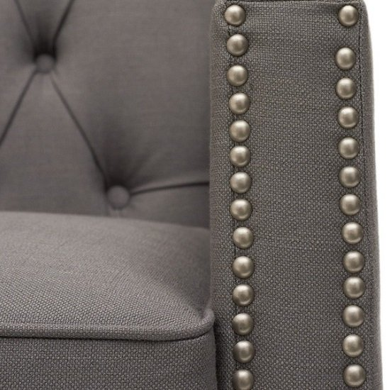 Bellard Fabric Sofa Chair In Grey With Natural Ash Legs_6