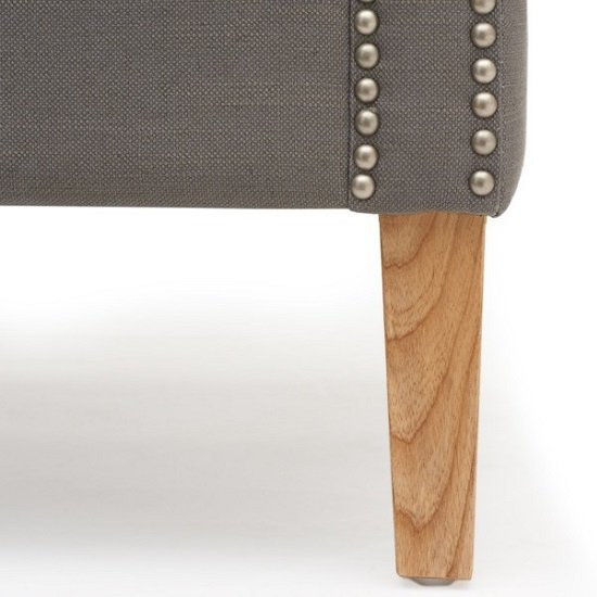 Bellard Fabric Sofa Chair In Grey With Natural Ash Legs_7
