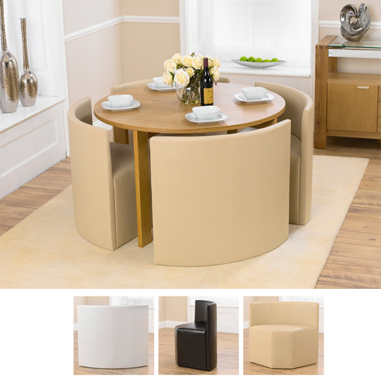 Round Pedestal Dining Table For 4